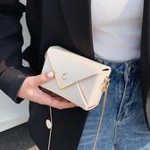 法國質感流行迷你小包包女2020新款潮網紅夏天清新百搭錬條斜背包 陽光好物