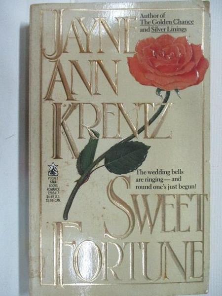 【書寶二手書T1/原文小說_BL5】Sweet Fortune_Jayne Ann Krentz