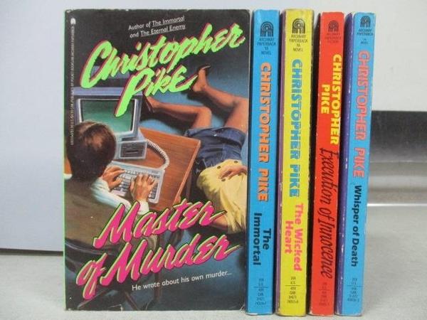 【書寶二手書T9/原文小說_MOX】Christopher Pike-The Immortal_The Wicked H