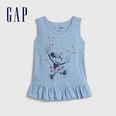 Gap女幼迪士尼印花圓領無袖上衣577378-米妮老鼠圖案