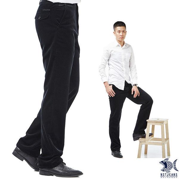 【NST Jeans】冷霜微光 光感復古 男萊卡保暖加厚絨褲(中腰)390(5621)秋冬長褲/保暖/絨褲/原價4380