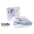 lilmon Cutie 小可愛浴巾-泡泡先生(藍)〔衛立兒生活館〕