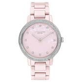 【Coach】/紐約 陶瓷系列晶鑽名媛女錶( 女錶 Watch)/CO14503500/台灣總代理原廠公司貨兩年保固