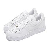 Nike 休閒鞋 Air Force 1 07 Craft 白 全白 皮革 男鞋 金標 AF1 【ACS】 CU4865-100