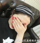 韓國敷面膜發飾發卡 春夏交叉鬆緊洗臉束發帶 寬邊打結頭巾女發箍艾美時尚衣櫥