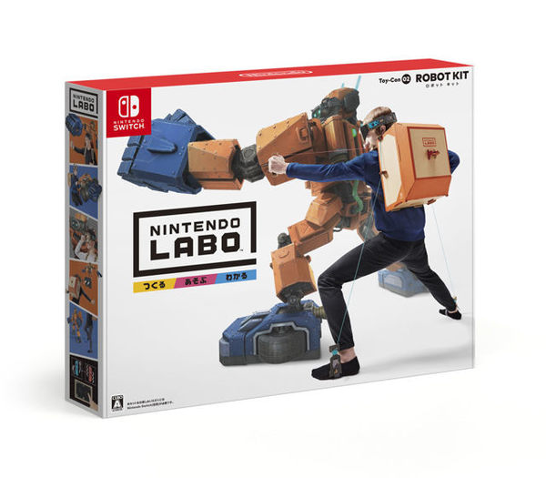 Nintendo Labo 任天堂實驗室 Toy-Con02 ROBOT KIT 機器人