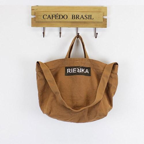 斜背包 森林系 字母 手提包 帆布包 環保購物袋-手提/單肩/斜背包【AL124】 BOBI  09/20
