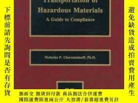 二手書博民逛書店Transportation罕見of Hazardous Materials Transportation of