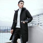 加厚棉衣男士外套韓版中長款棉襖子羽絨棉服男潮  瑪奇哈朵