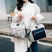 媽咪包後背新款2020輕便小號時尚手提斜挎孕媽包母嬰包外出多功能 韓國時尚週