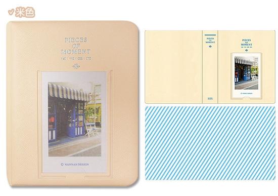 mini 拍立得底片專用 馬卡龍色系相本 時光相冊