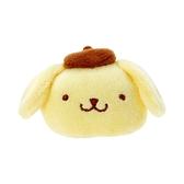 小禮堂 布丁狗 造型絨毛鐵髮夾 小髮夾 瀏海夾 造型髮夾 (黃棕 大臉) 4550337-97653