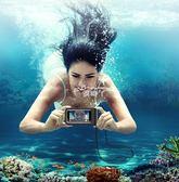 手機防水袋 潛水套觸屏水下拍照游泳溫泉手機包蘋果oppo通用 俏腳丫