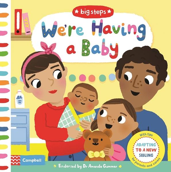 Big Steps:We're Having A Baby 生活練習:我要當哥哥姊姊 操作書