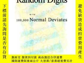 二手書博民逛書店【罕見】A Million Random Digits With 100,000 Normal Deviates奇