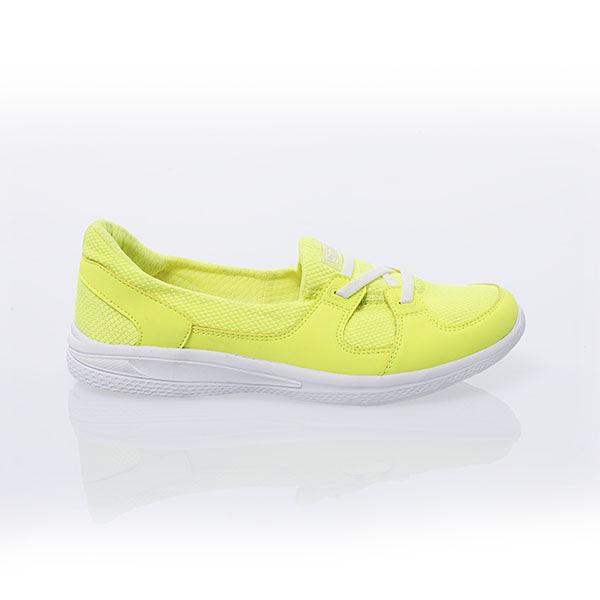 TOP GIRL 透氣休閒鞋-螢黃