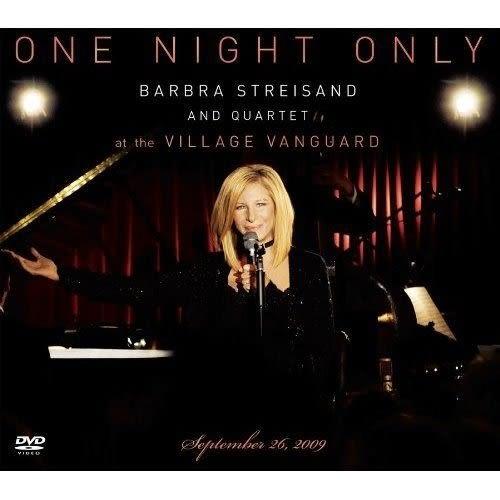 僅此一夜 芭芭拉史翠珊與四重奏前衛村現場演唱實錄 DVD附CD (購潮