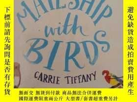二手書博民逛書店鳥的交配罕見mate ship with birds(英文原版小