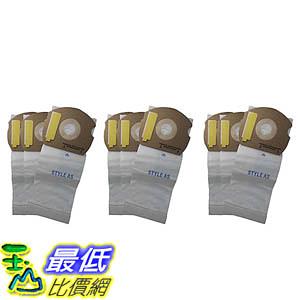 [106美國直購] 9 Allergen-rated Paper Vacuum Bags for Eureka AS Series Vacuums 66655, 68155-6, 68155