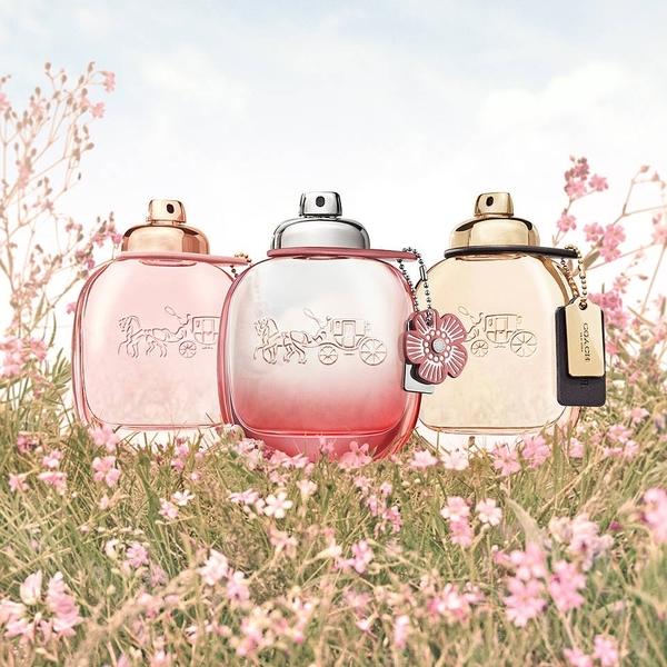 COACH Floral Blush 嫣紅女性淡香精 50ml 甜美女香 美式時尚【SP嚴選家】