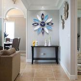 北歐時鐘藝術鐘表時鐘掛鐘歐式現代簡約個性時尚家用客廳創意裝飾靜音 衣普菈