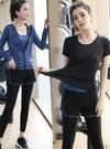 運動套裝女秋冬款健身房瑜伽服初學者專業晨跑慢跑步衣季瑜珈速干