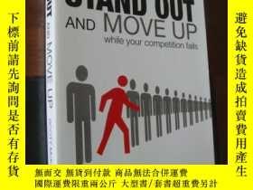 二手書博民逛書店STAND罕見OUT AND MOVE UP while you