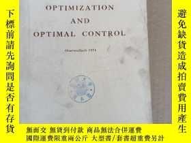 二手書博民逛書店optimization罕見and optimal control(P2216)Y173412