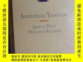 二手書博民逛書店英文原版罕見Individual Taxation by Jam