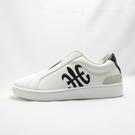 Royal 無鞋帶 休閒鞋 皮革 公司貨 01702009 男款 白黑【iSport愛運動】