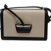 LOEWE 羅威 米黑綠混色斜背小包 Barcelona Shoulder Bag【 二手品牌BRAND OFF】