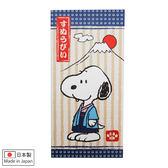 史努比信封 日製和服造型紅包袋/信封袋/紙袋4入(含貼紙) [喜愛屋]