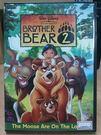 挖寶二手片-B09-005-正版DVD*動畫【熊的傳說2】-英語發音-迪士尼-