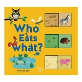 Who Eats What 動物們吃什麼-配對遊戲書