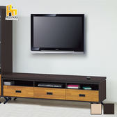 ASSARI-(橡木)集層木6尺電視櫃(寬180*深40*高53cm)