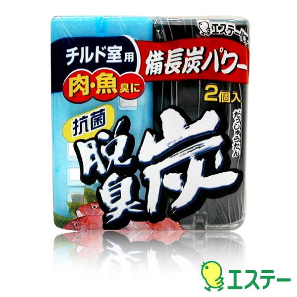 ST雞仔牌 生鮮室脫臭炭消臭劑55gx2入  ST-113453