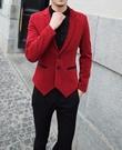 找到自己品牌 韓國男 垂感 燕尾下擺 小西裝 修身西裝 西裝外套 單件外套