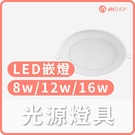 【dHSHOP】 16W LED嵌燈 LED崁燈 自然光 dH精選光源燈具 飛利浦