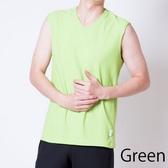 VENEX FREE FEEL COOL 紳士型 無袖上衣 綠色