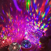 星空投影燈創意夢幻浪漫少女滿天星LED燈天馬行空星空投影臥室裝飾儀小夜燈【全館滿千折百】