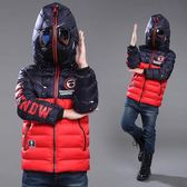 男童冬裝棉衣外套中大童兒童加絨加厚羽絨棉服潮 概念3C旗艦店