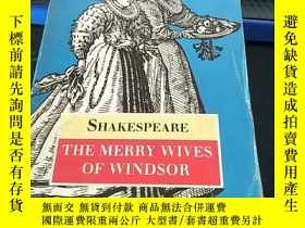 二手書博民逛書店THE罕見MERRY WIVES OF WINDSY4542 W