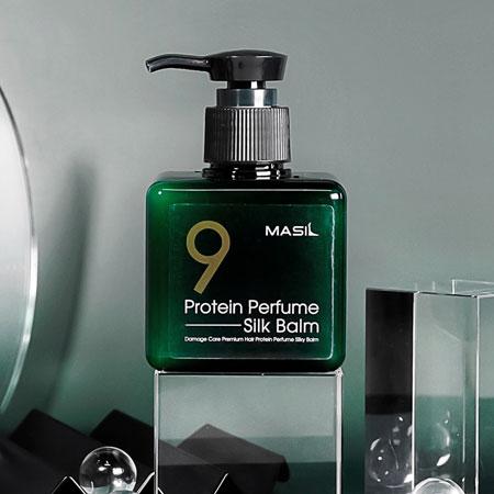 韓國 MASIL 9肽護髮精華 180ml 免沖洗 護髮膏 香氛 髮香膏 護髮 瑪絲蘭