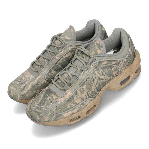 【六折特賣】Nike Air Max Tailwind IV SP 綠 咖啡 迷彩 氣墊 男鞋 復古慢跑鞋【ACS】 BV1357-001