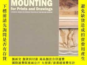 二手書博民逛書店Conservation罕見Mounting For Prints And DrawingsY364682 K