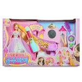 《 MIMI World 》迷你MIMI長髮公主美髮遊戲組╭★ JOYBUS玩具百貨