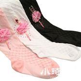 春秋款中厚白色芭蕾舞蹈襪純棉女童打底襪褲