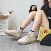 馬丁靴女 韓版百搭 新款短靴