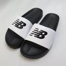 New Balance 韓國海綿運動拖鞋 公司貨 SD1101GBW 男款 黑白【iSport愛運動】