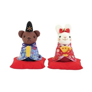 OlympusPA702 女兒節 熊熊兔兔材料包